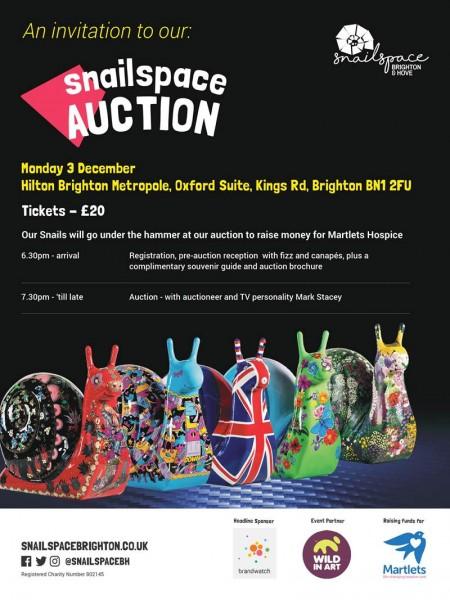 Snailspace Auction | Martlets Hospice