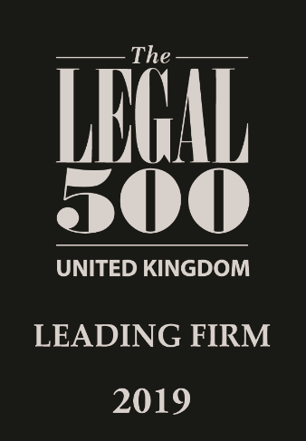 Leading Firm 2019 - Legal500