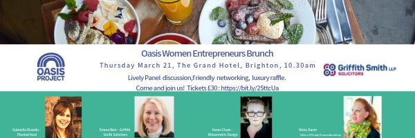 Oasis Women Entrepreneurs Brunch, The Grand Hotel Brighton